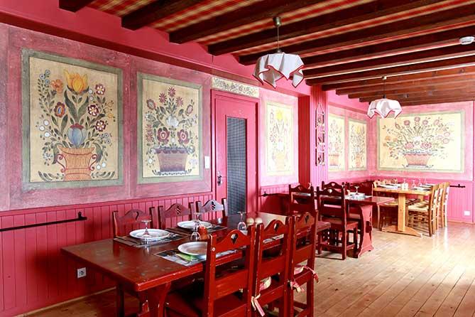 Restaurant dans la station des Rousses